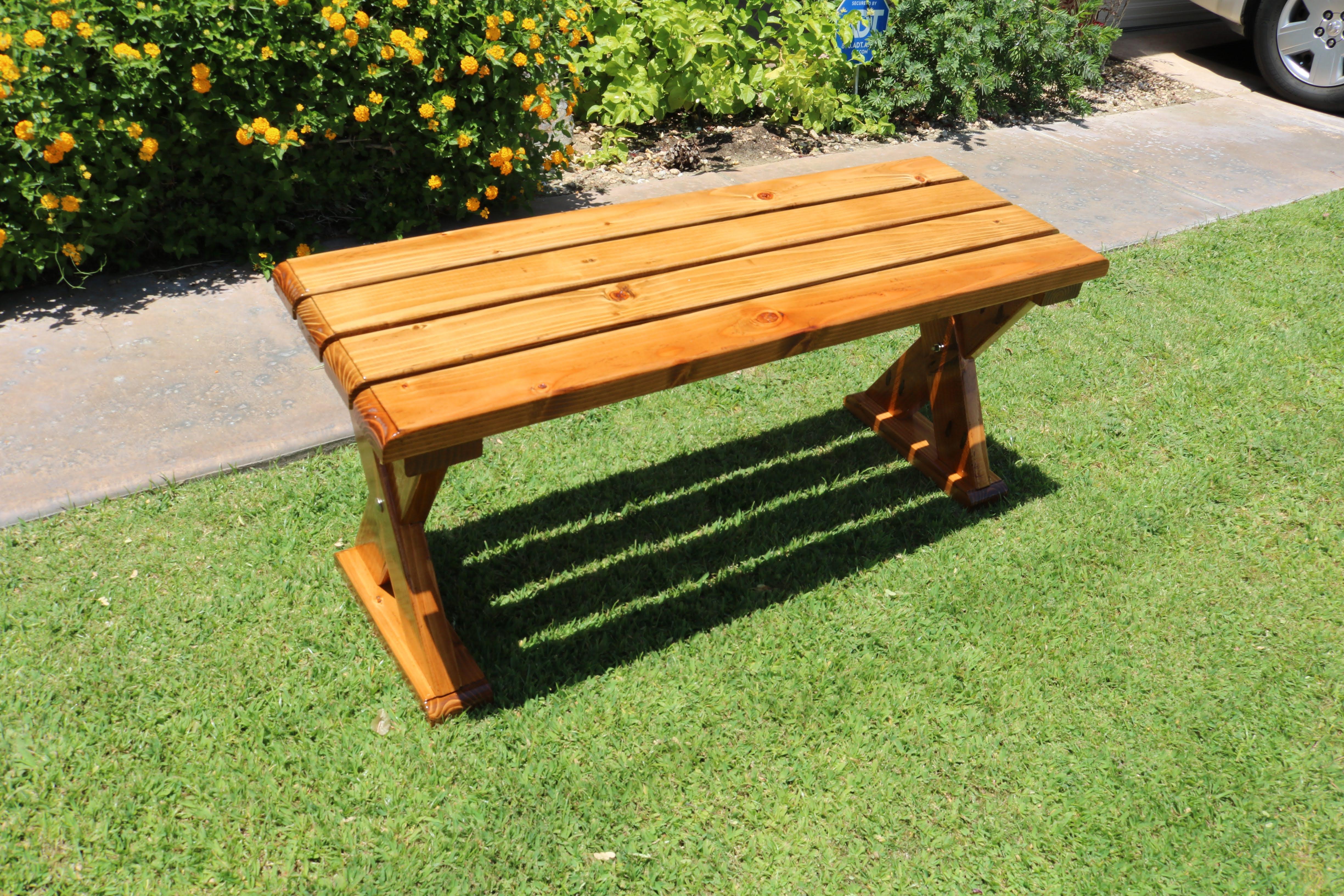 X-Leg Bench $100
