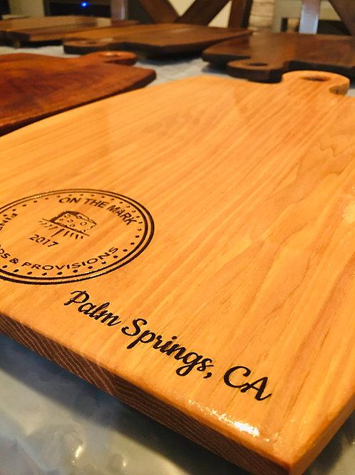 Pecan Wood Barrel Board
