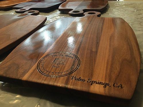 Walnut Wood Barrel Board