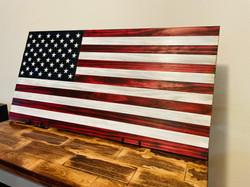 DLG WOOD DESIGNS - AMERICAN FLAG