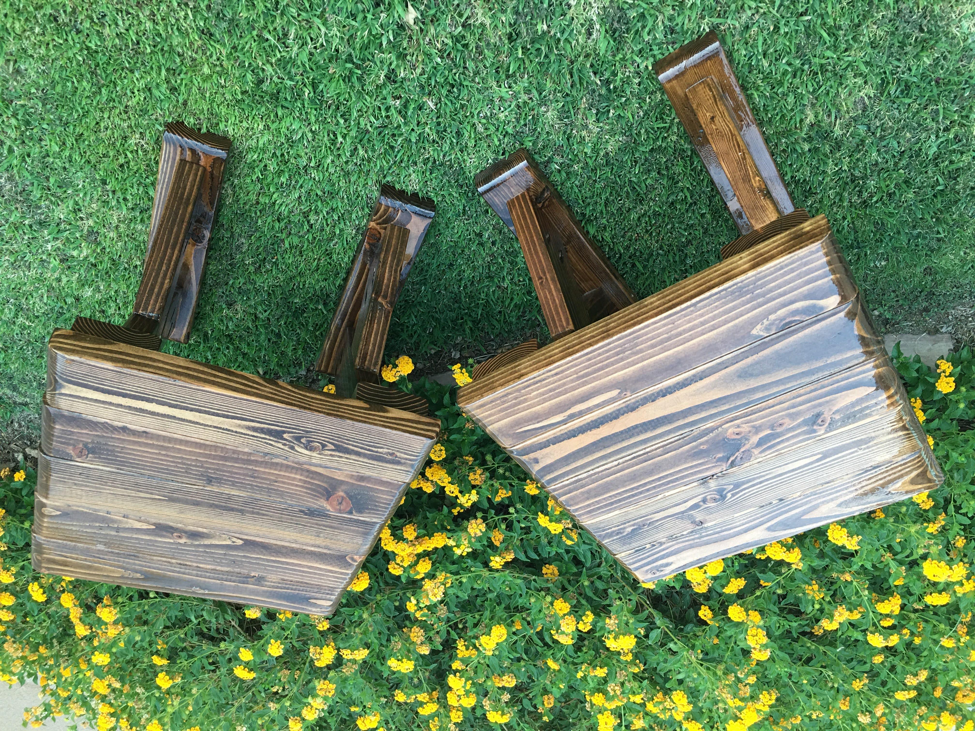 X-LEG END TABLES