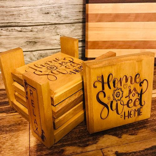 'Home Sweet Home'Coasters