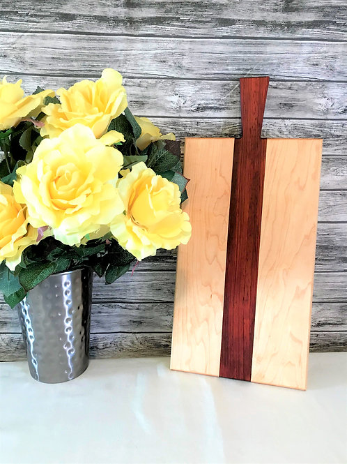 Maple and Padauk Charcuterie/Serving Board