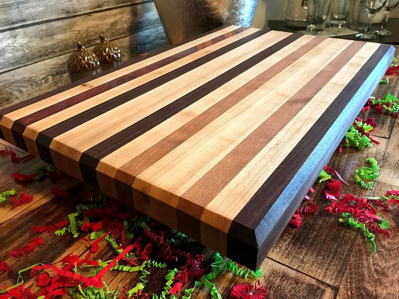 Bad Jade Exotic Wood Cutting Board
