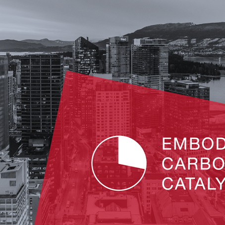 Apr. 2/19 Embodied Carbon Catalyst: Kick-off Event