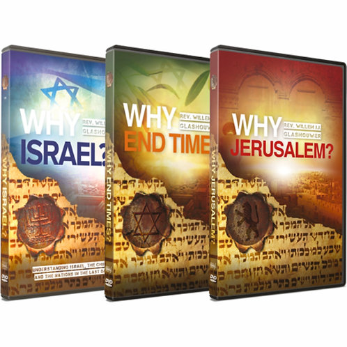 Why Israel? Trilogy DVD Bundle by Rev. Willem J J Glashouwer