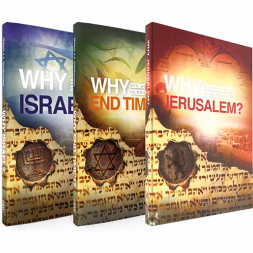 Why Israel? Trilogy Book Bundle by Rev. Willem J J Glashouwer