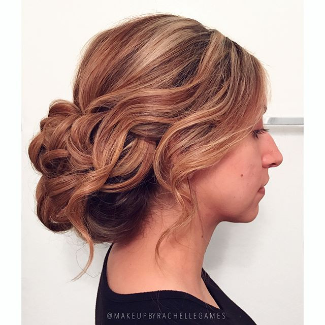 Romantic up-do & makeup for this bride-t