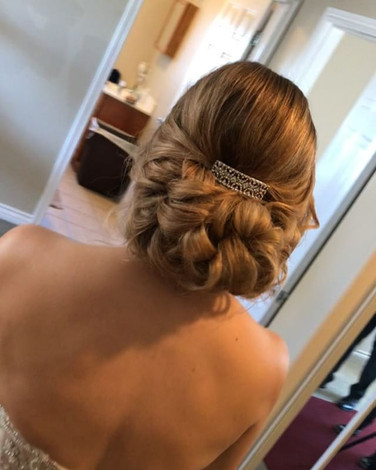 More on Patty's Updo! Swipe left to see