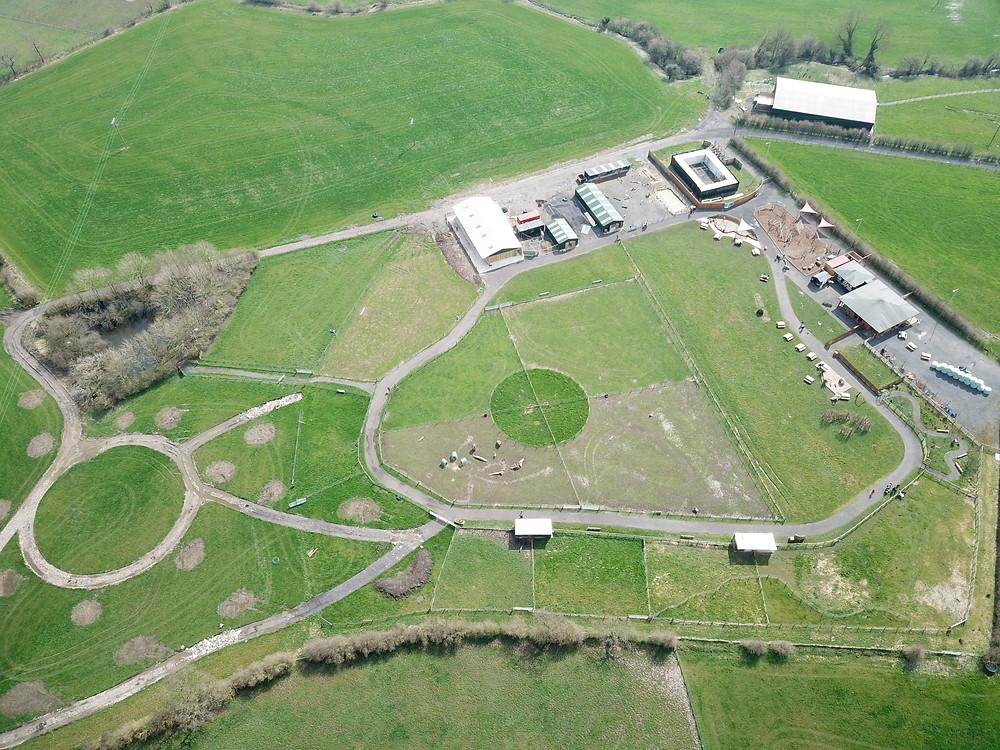 Mrs Dowsons Farm Park - work under way