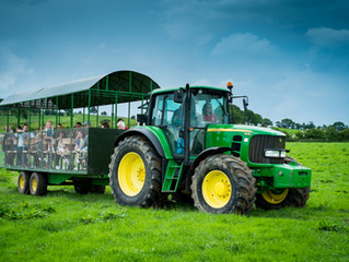 Tractor Rides this Half Term