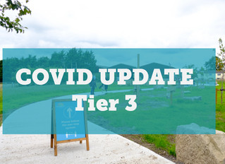 COVID UPDATE - Tier 3