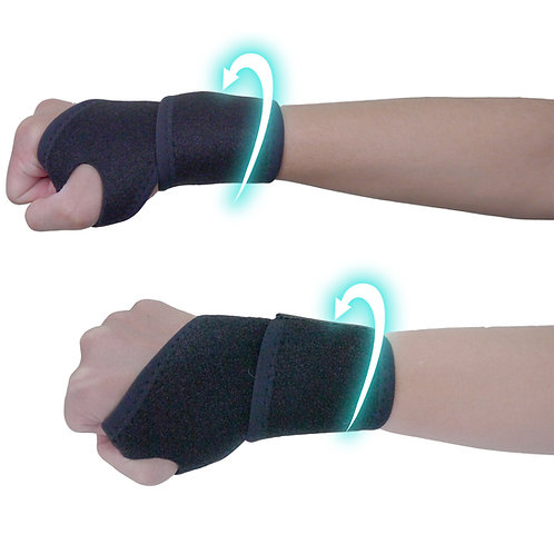 WELL-DAY Far Infrared Hand Wrist Compression Support, Black