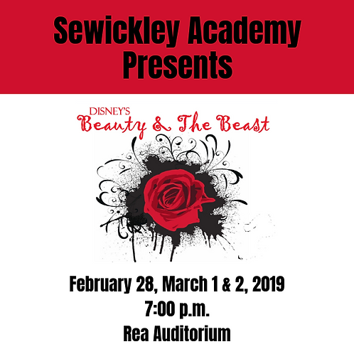 Sewickley Academy Beauty and the Beast DVD March 2019