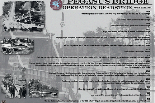 Key events of Pegasus Bridge: D-Day