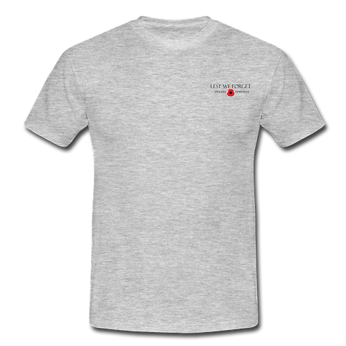 Lest We Forget Remembrance T-Shirt