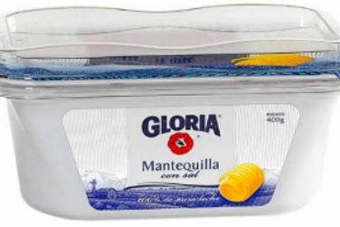 Mantequilla Gloria 400 g