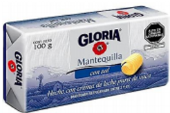 Mantequilla Gloria Barra 100 g