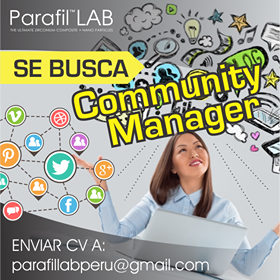 COMMUNITY MANAGER - Parafil Lab