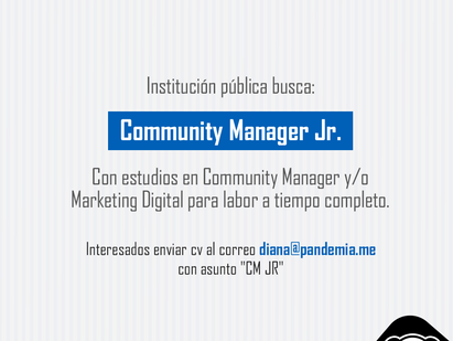 COMMUNITY MANAGER JUNIOR
