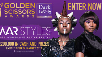 Dark and Lovely Golden Scissors Awards: Entries Close 27 July