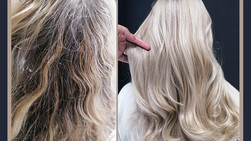 Stunning Blonde Colour Correction by Shafia Cassiem Haffejee