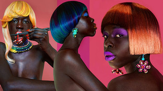 Styles: Hot Clash Collection by Anne Veck, UK