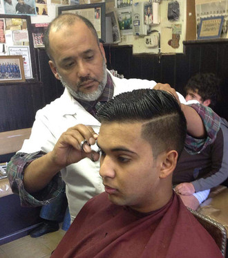 Inspiration from Arts Barbershop