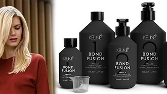Keune Bond Fusion: 43% Less Breakage & Superb Affordability