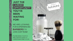 Barber Opportunities Available at Sorbet Man