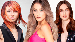 Intercoiffure Australia Presents Long Hair Highlights