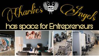 Charlies Angels Salon, Cape Town, Has Space for Entrepreneurs