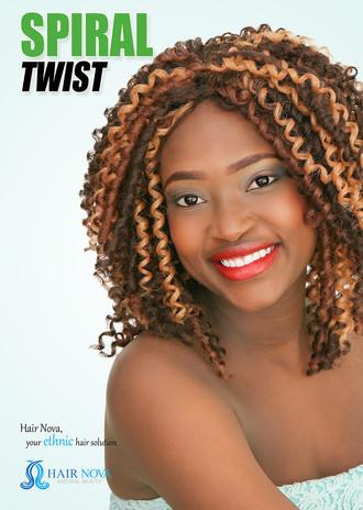 Spiral Twist from Hair Nova: Supplier of Quality Weaves, Wigs & Braids