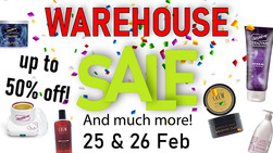 Lime Light & Hands Down Warehouse Sale Ahead