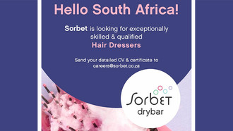 Stylist Opportunities Available at Sorbet Drybar