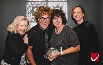 Theresa Gouws receives Wella giftED Francois Coty Lifetime Achievement Award