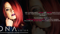 Junior and Senior Stylist Required at DNA Salon, Bedfordview Jhb