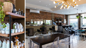 Squarebubble Hairdressing in Bedfordview: Space Available for Rental or Commission