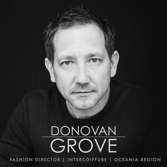 Donovan Grove is Intercoiffure Oceania Fashion Director