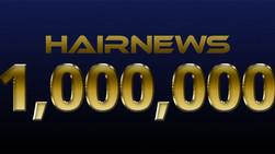 Hairnews Website Reaches One Million Visitors