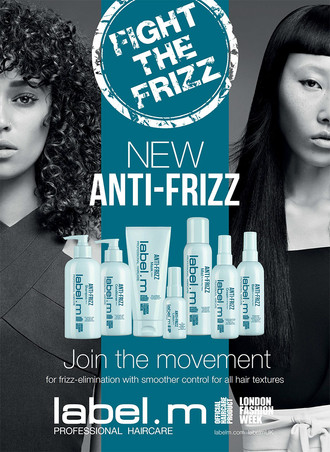 New label.m Anti-Frizz System: Smoother Control for All Hair Textures