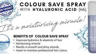 New Icon Colour Save Spray with HA: The Moisturising Miracle