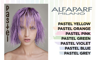 Perfect Pastels from Alfaparf Revolution