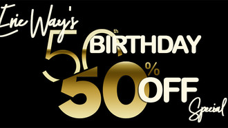 Eric Way's 50th Birthday Celebration: 50% Discount Special on Junior Barber Courses from Groomed