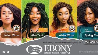 Stunning Weaves from Ebony Braids