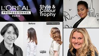 L'Oréal Style & Colour Trophy Winners