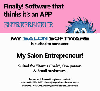 My Salon Software Entrepreneur: Designed for One-Person Businesses
