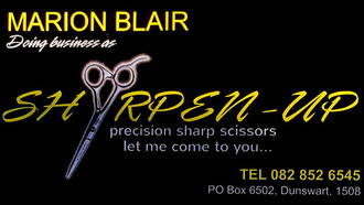 Classified Services: Sharpen-Up Mobile Scissor Sharpening & Servicing