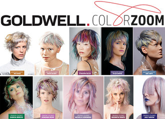 """Goldwell ColorZoom Challenge 2018: SA """"Top 5"""" Finalists Announced"""