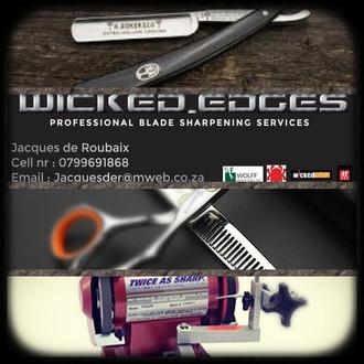 Wicked Edges Scissor & Razor Sharpening
